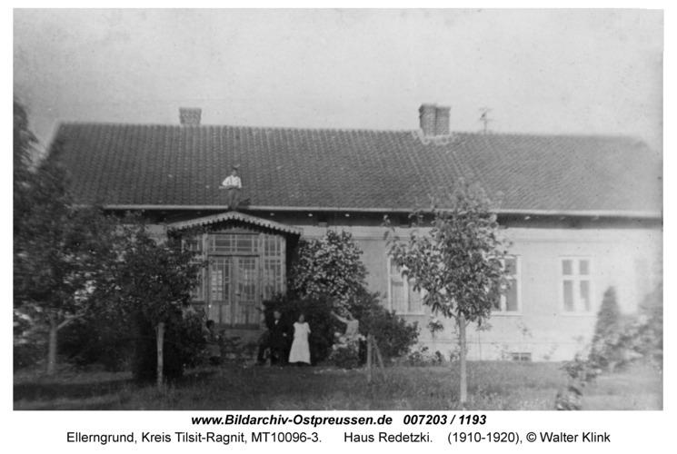 Ellerngrund, Haus Redetzki
