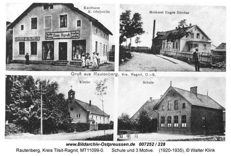 Rautenberg, Schule und 3 Motive