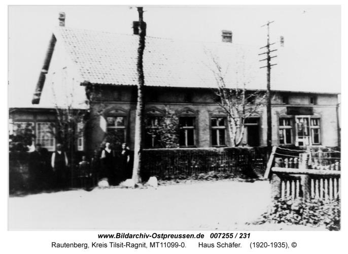 Rautenberg, Haus Schäfer