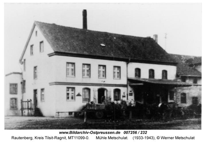 Rautenberg, Mühle Metschulat