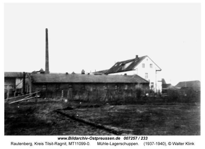 Rautenberg, Mühle-Lagerschuppen