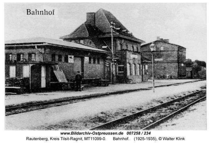 Rautenberg, Bahnhof