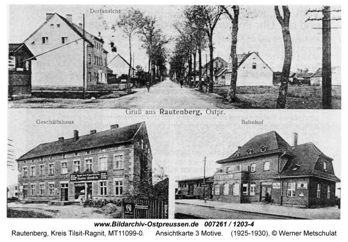 Rautenberg, Ansichtkarte 3 Motive