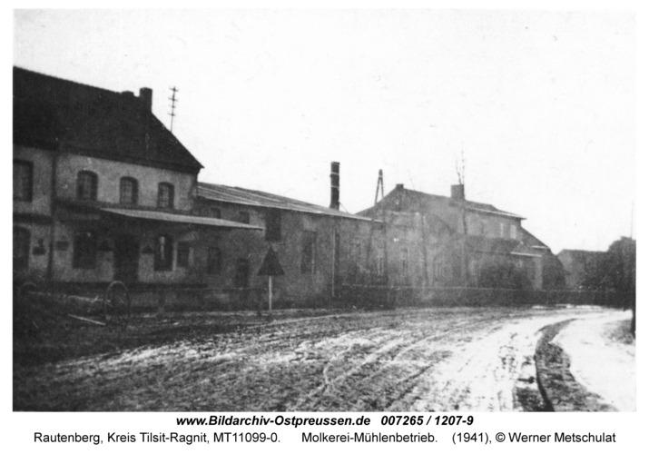 Rautenberg, Molkerei-Mühlenbetrieb