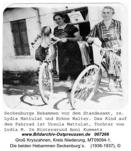 Seckenburg, Die beiden Hebammen Seckenburg`s