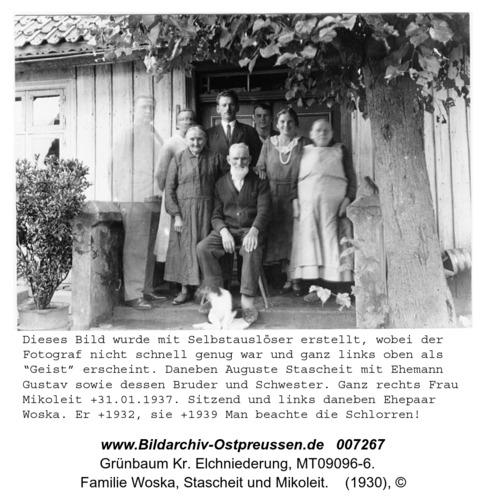 Grünbaum, Familie Woska, Stascheit und Mikoleit