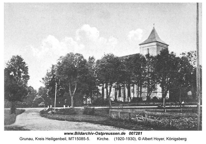Grunau Kr. Heiligenbeil, Kirche