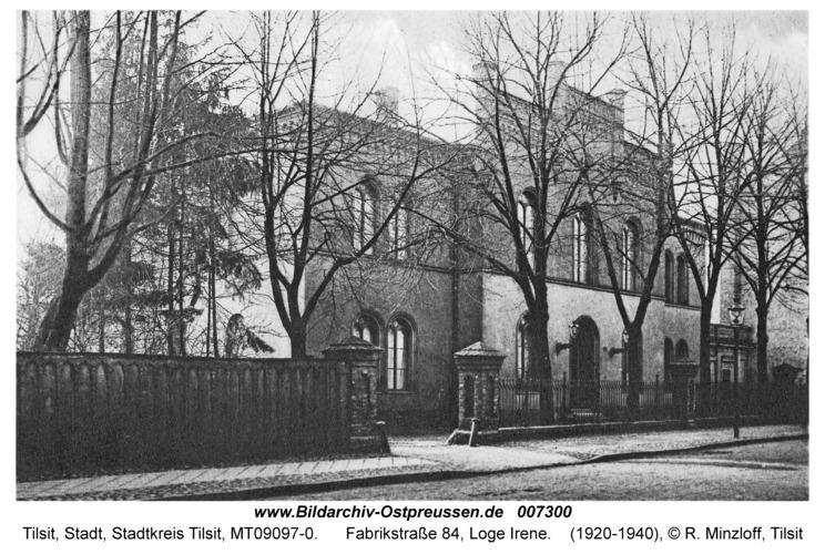 Tilsit, Fabrikstraße 84, Loge Irene