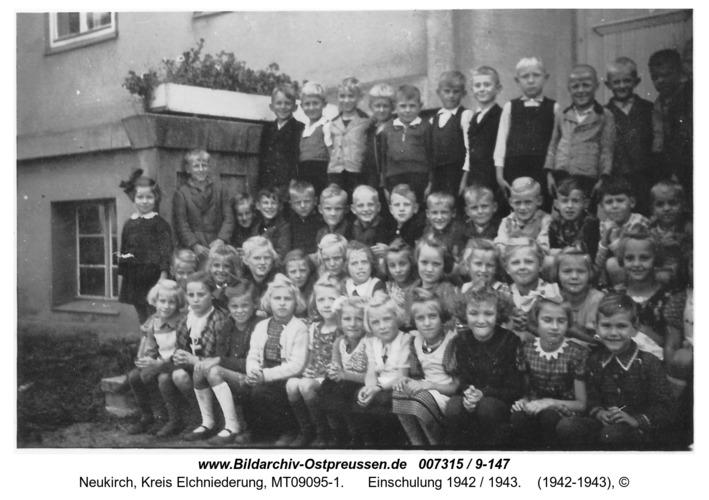 Neukirch, Einschulung 1942 / 1943