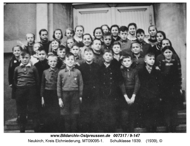 Neukirch, Schulklasse 1939