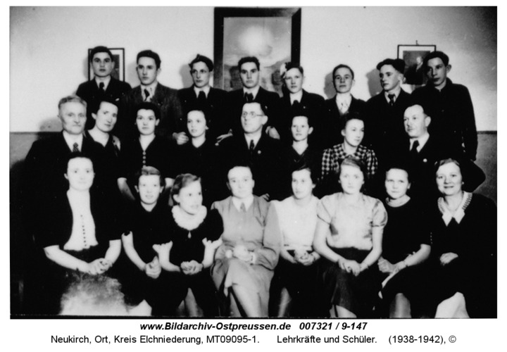 Neukirch, Lehrkräfte und Schüler