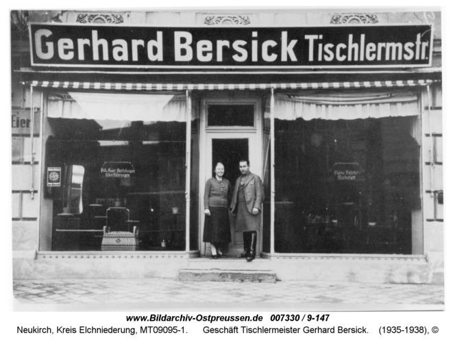 Neukirch 17, Geschäft Tischlermeister Gerhard Bersick