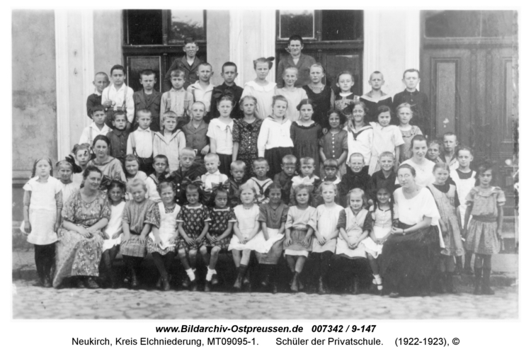 Neukirch 186, Schüler der Privatschule
