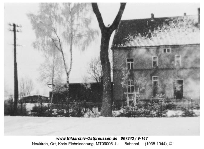 Neukirch 187, Bahnhof