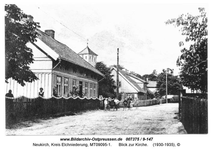 Neukirch 241, Blick zur Kirche