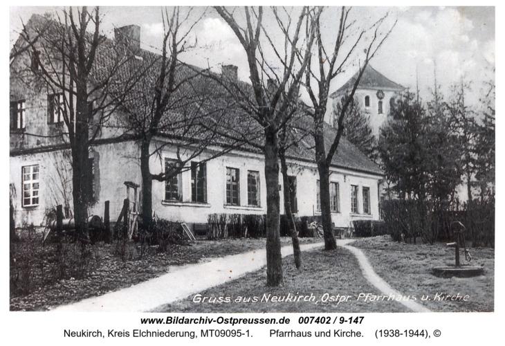 Neukirch 281, Pfarrhaus und Kirche