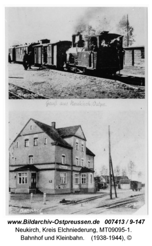 Neukirch 71, Bahnhof und Kleinbahn
