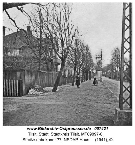 Tilsit, Straße unbekannt ??, NSDAP-Haus