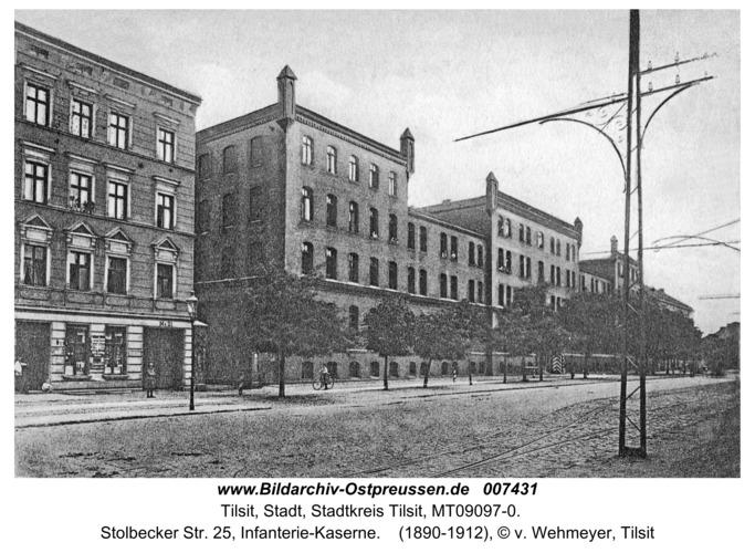 Tilsit, Stolbecker Str. 25, Infanterie-Kaserne