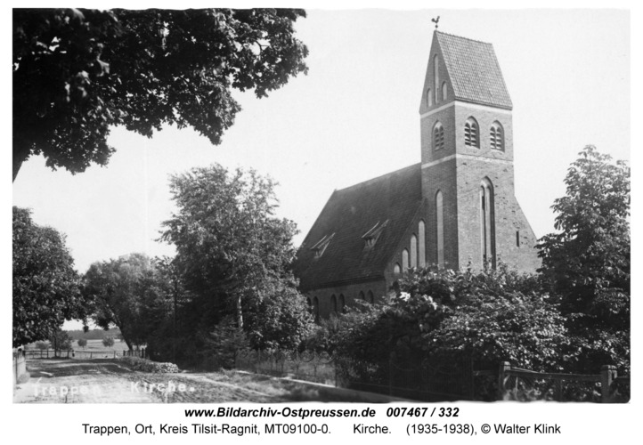 Trappen, Kirche