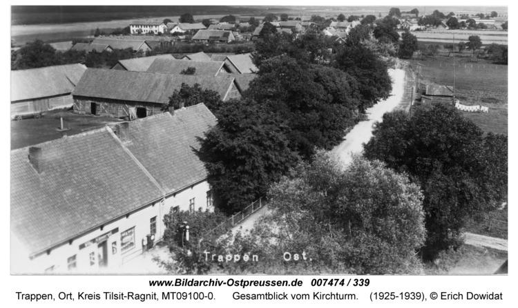 Trappen-Ost, Gesamtblick vom Kirchturm