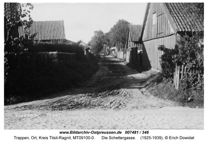 Trappen-West, die Schettergasse