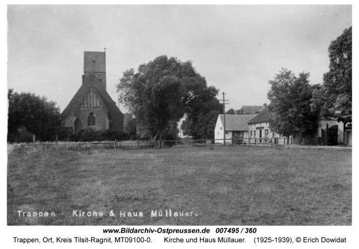 Trappen, Kirche und Haus Müllauer