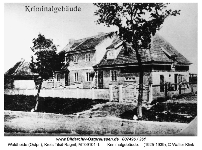Waldheide, Kriminalgebäude
