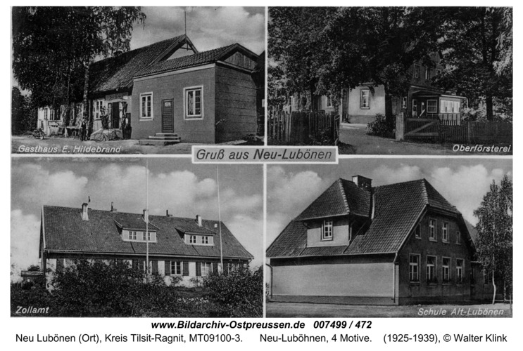 Memelwalde, Neu-Luböhnen, 4 Motive