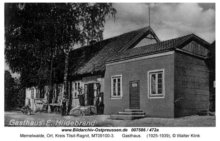 Memelwalde, Gasthaus