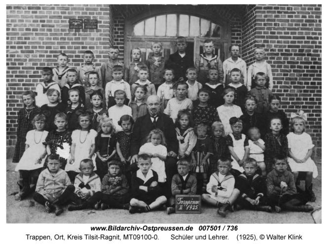 Trappen, Schüler und Lehrer