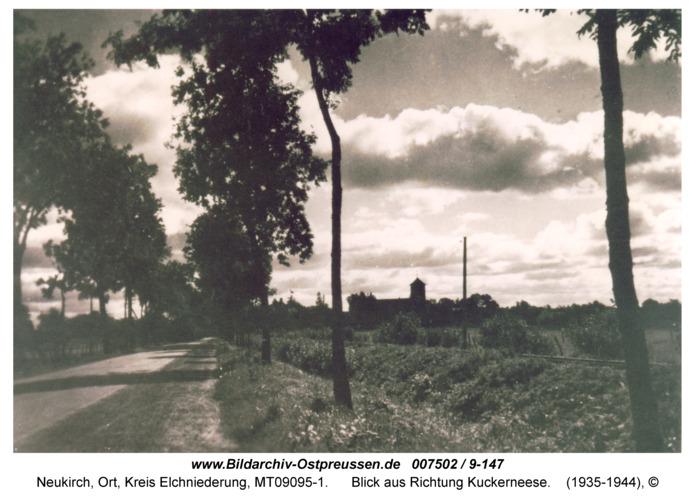 Neukirch 21, Blick aus Richtung Kuckerneese