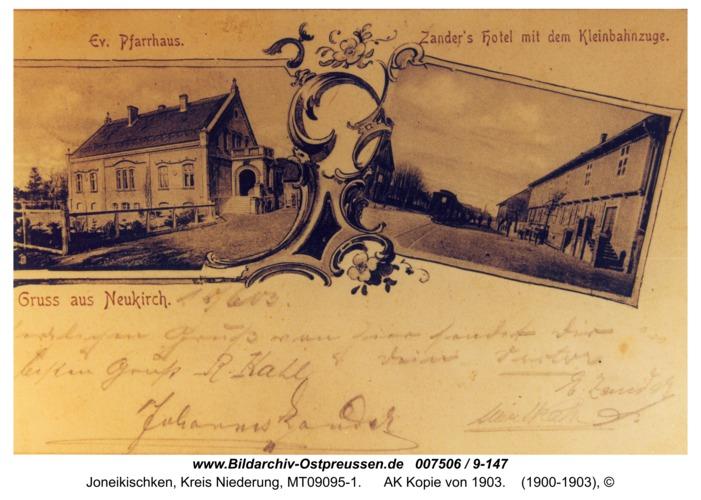 Neukirch 3, AK Kopie von 1903