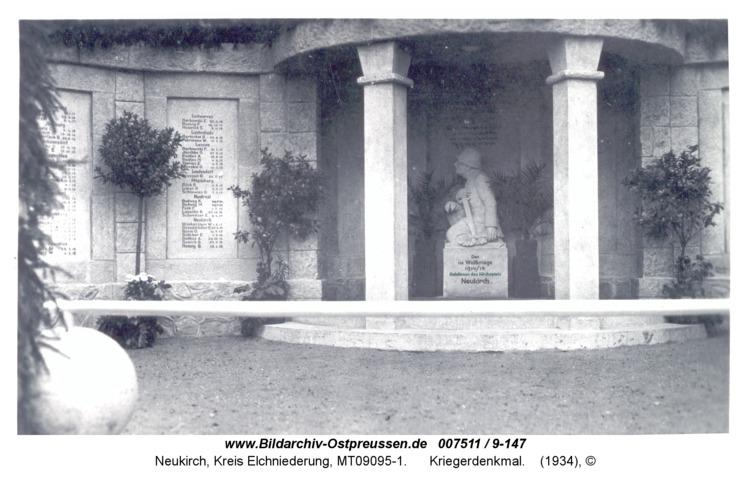 Neukirch 68a, Kriegerdenkmal