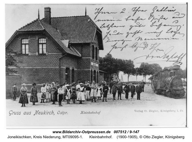 Neukirch, Kleinbahnhof