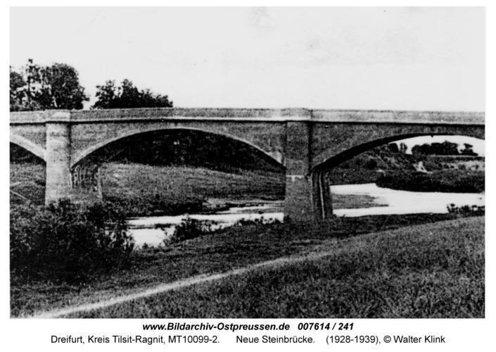 Dreifurt, neue Steinbrücke