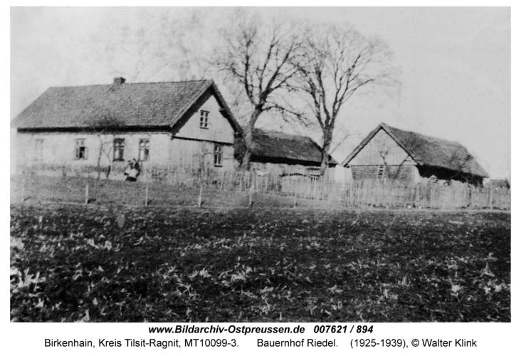 Birkenhain, Bauernhof Riedel