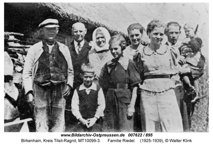 Birkenhain, Familie Riedel