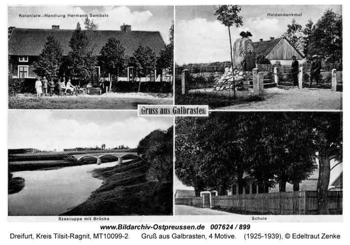 Dreifurt, Gruß aus Galbrasten, 4 Motive