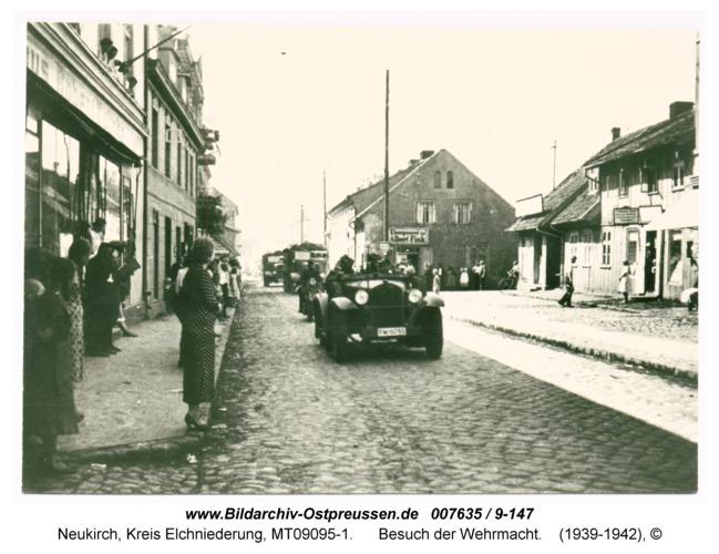 Neukirch 78, Besuch der Wehrmacht