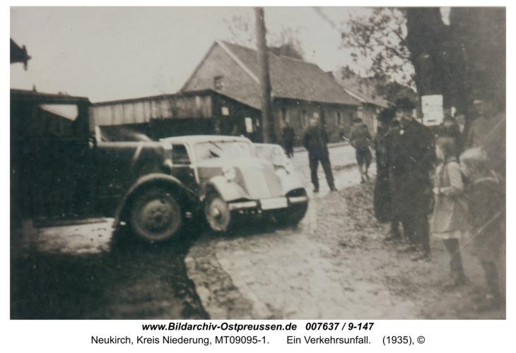 Neukirch 114, ein Verkehrsunfall