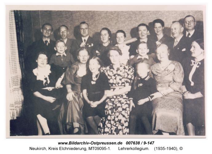 Neukirch 120, Lehrerkollegium