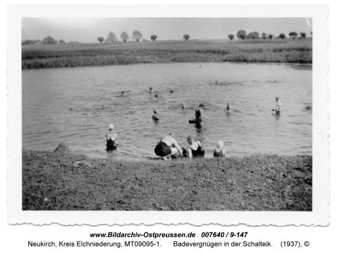 Neukirch 148, Badevergnügen in der Schalteik