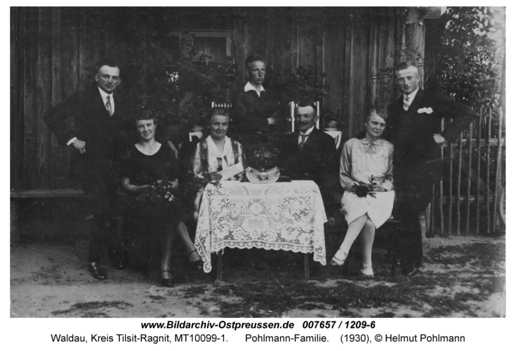 Waldau, Pohlmann-Familie