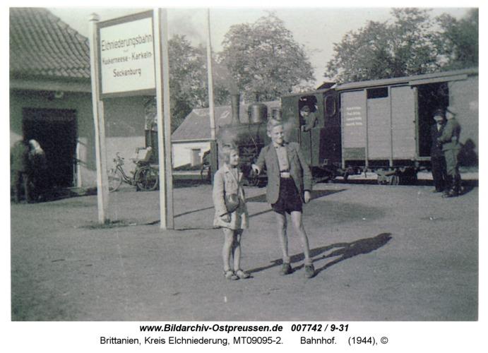 Brittanien, Bahnhof