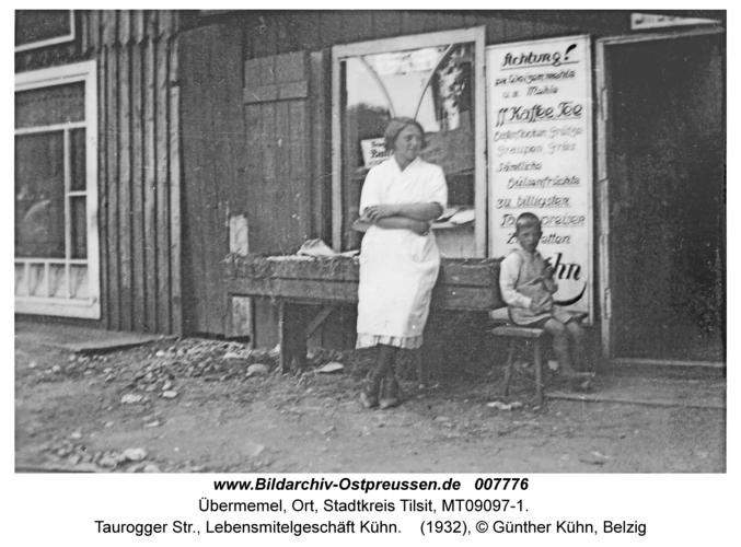 Tilsit-Übermemel, Taurogger Str., Lebensmitelgeschäft Kühn