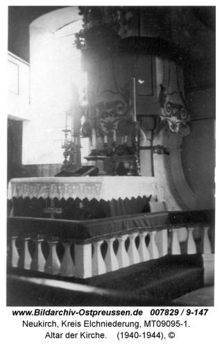 Neukirch 55, Altar der Kirche