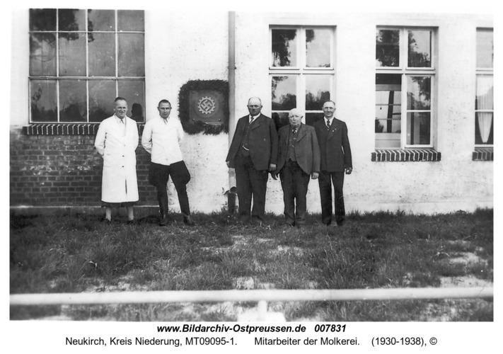 Neukirch, Mitarbeiter der Molkerei