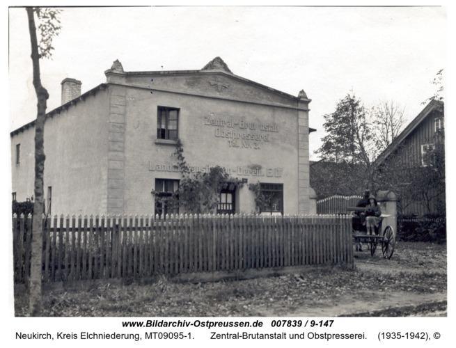 Neukirch, Zentral-Brutanstalt und Obstpresserei