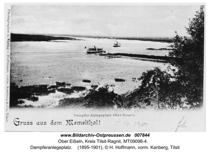 Obereißeln, Dampferanlegeplatz